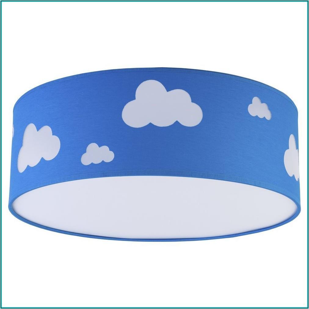 Kinderzimmer Blau Mit Wolken