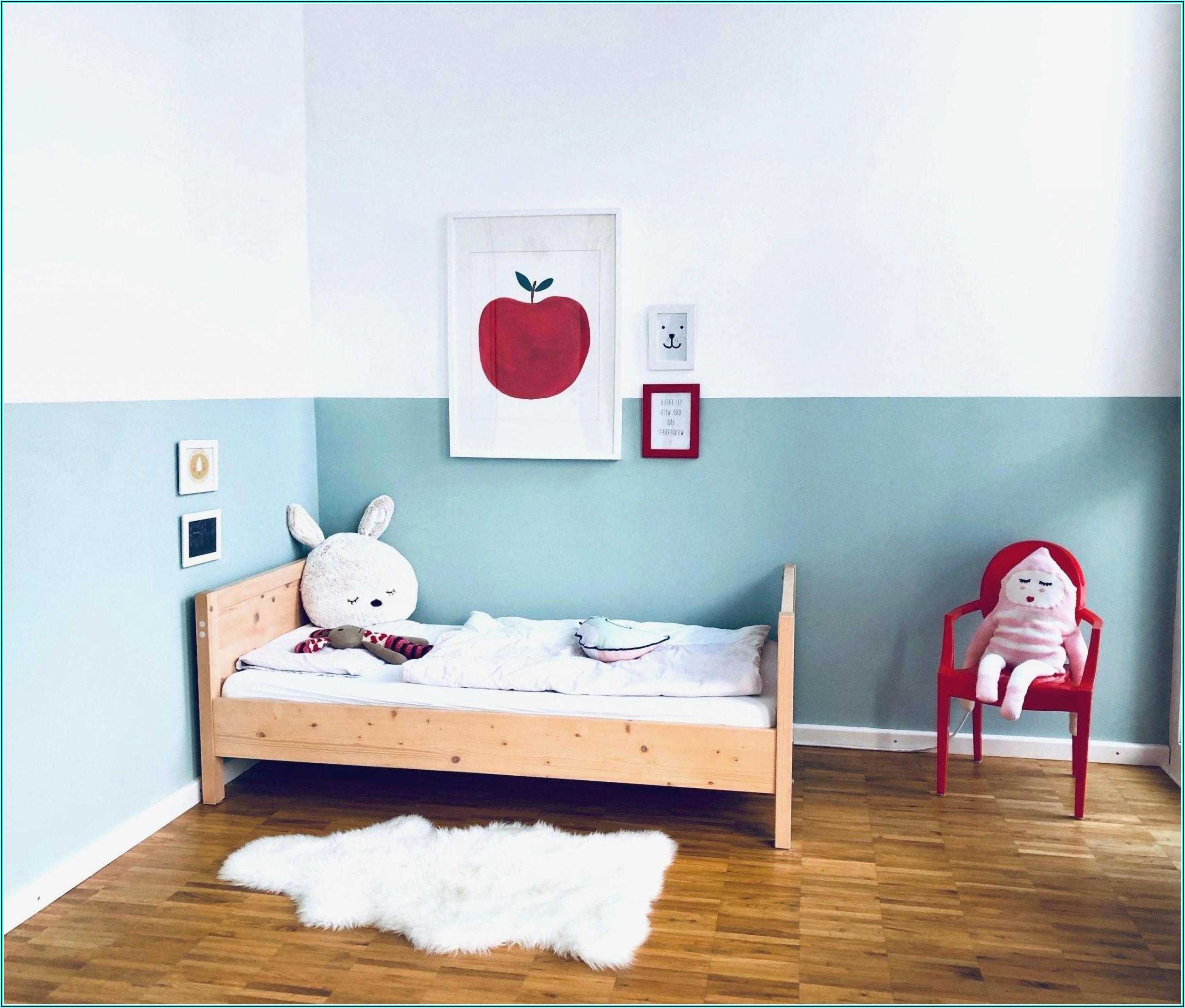 Kinderzimmer Blau Rot Streichen