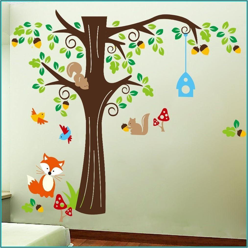 Kinderzimmer Wandtattoo Wald