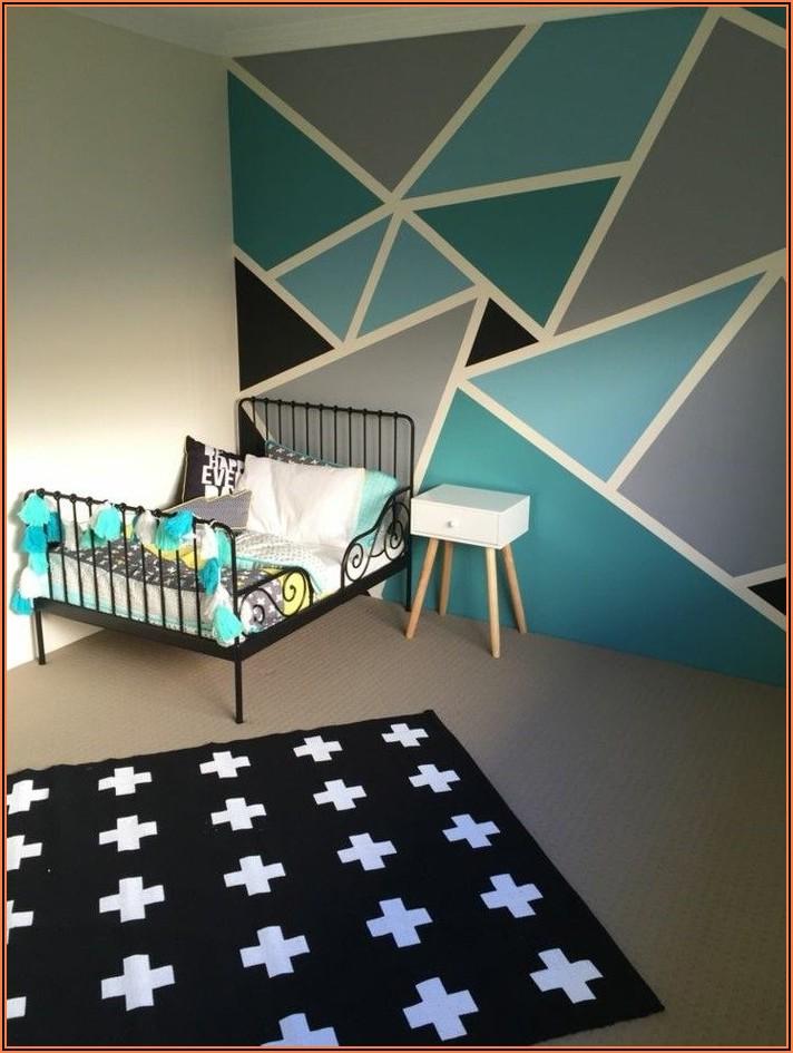 Kinderzimmer Welche Wand Farbig