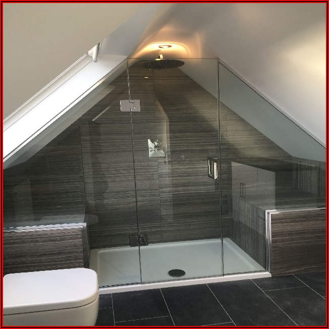 Kleine Badezimmer Mit Dachschräge