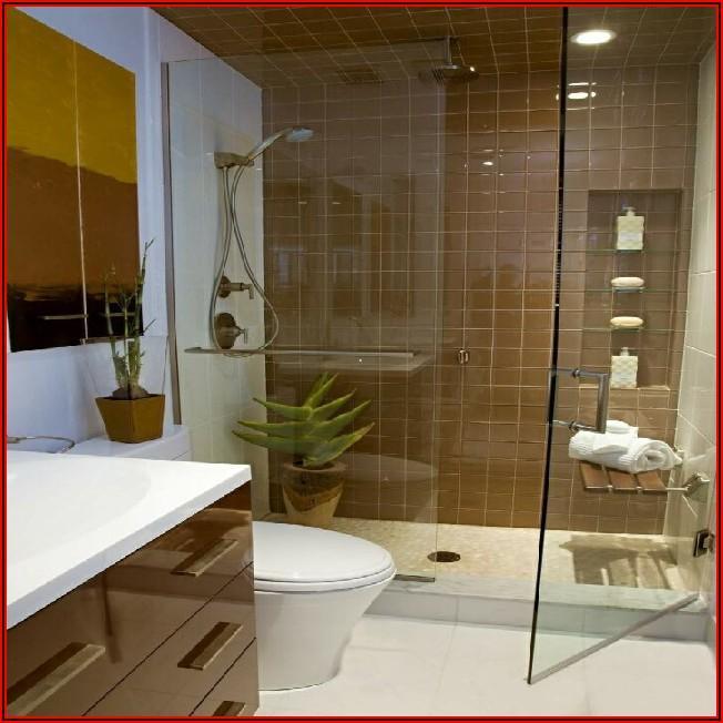 Kleine Badezimmer Mit Dusche Beispiele