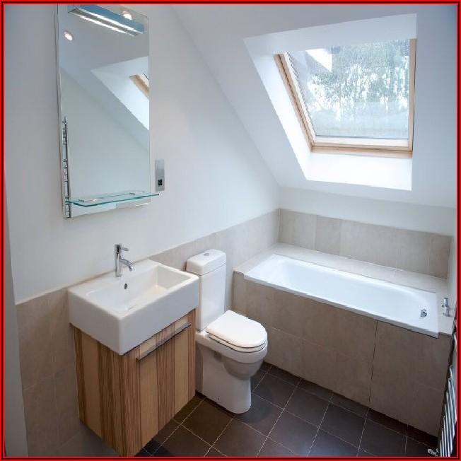 Kleines Bad Dachgeschoss Ideen