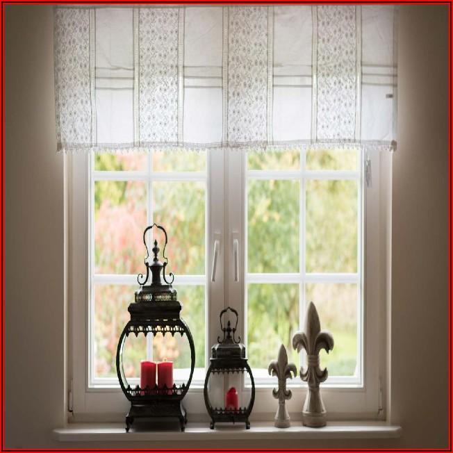 Kleines Bad Fenster Gardinen