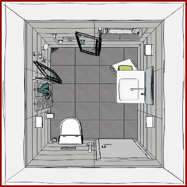 Kleines Bad Mit Dusche Gestalten Grundriss