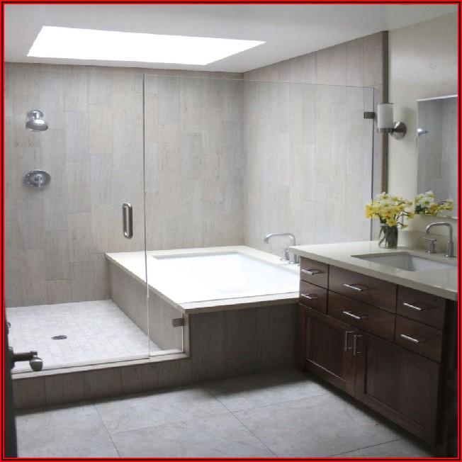 Kleines Bad Mit Dusche Und Badewanne Gestalten