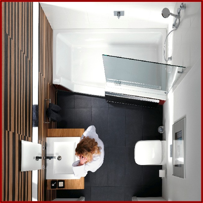 Kleines Bad Mit Dusche Und Badewanne Planen