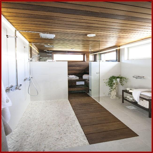 Kleines Bad Mit Sauna