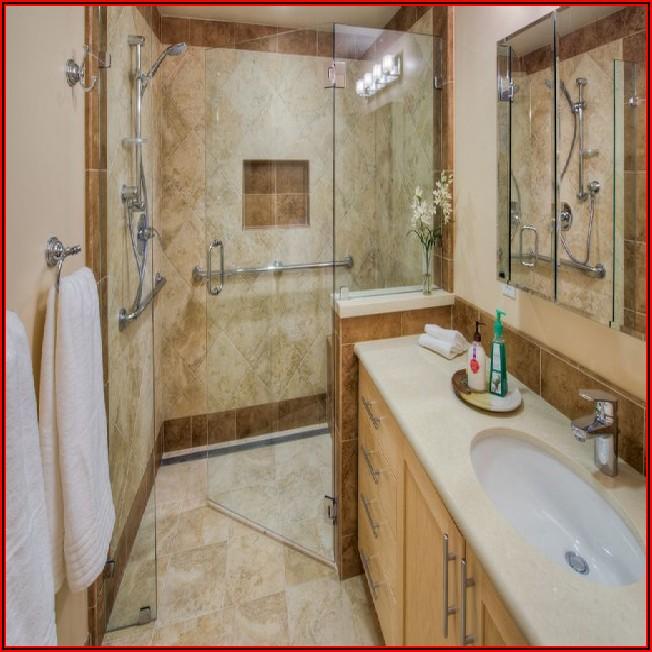 Kleines Bad Mit Walk In Dusche