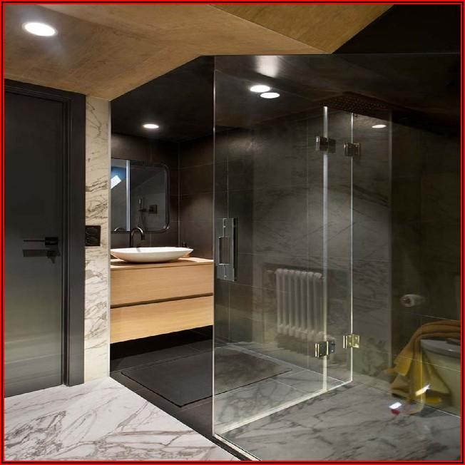 Kleines Bad Modern Fliesen