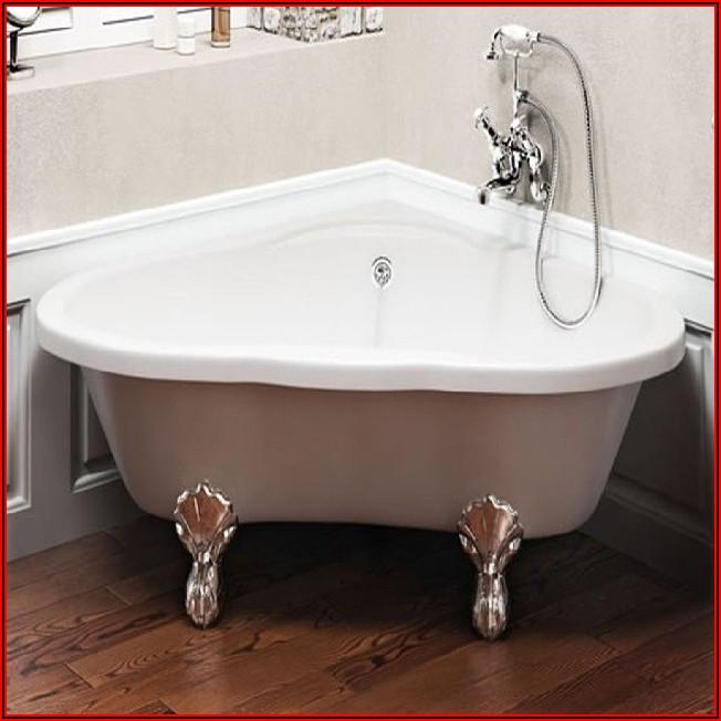 Kleines Badezimmer Freistehende Badewanne
