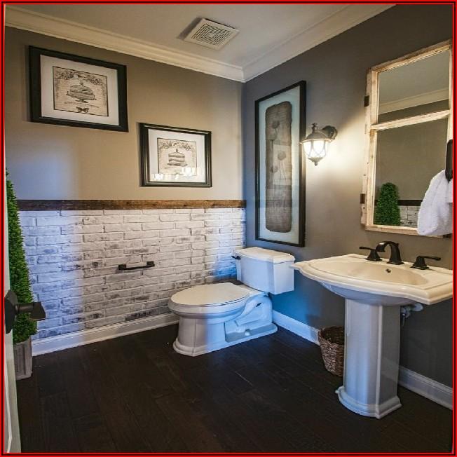 Kleines Badezimmer Grau Streichen
