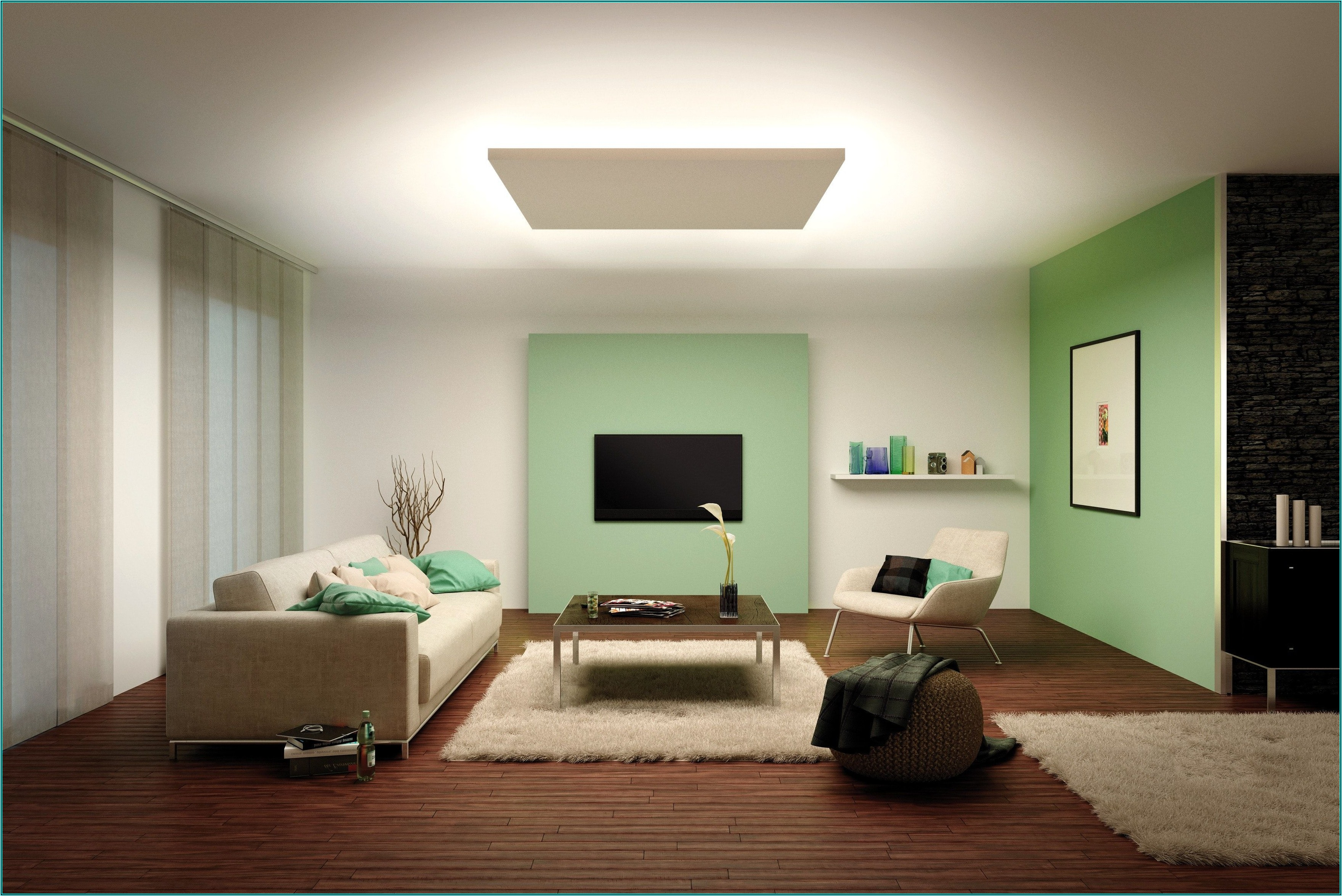 Licht Ideen Wohnzimmer