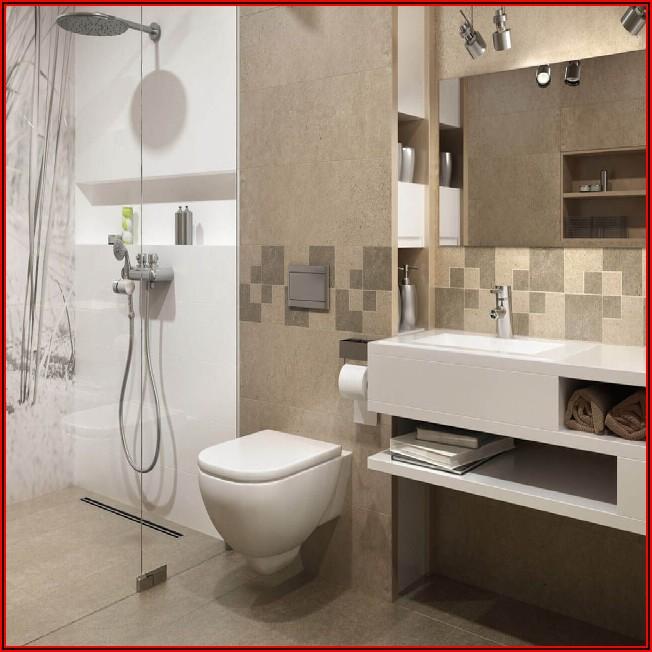 Modernes Kleines Bad Mit Dusche
