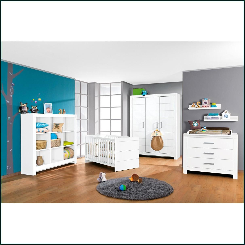 Paidi Babyzimmer Weiß Grau