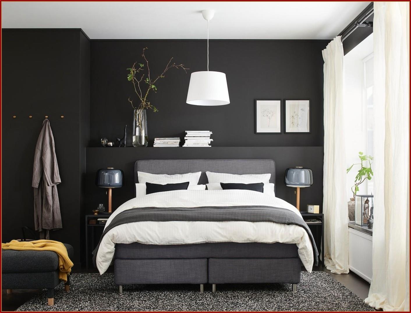 Schlafzimmer Ideen Dunkle Möbel