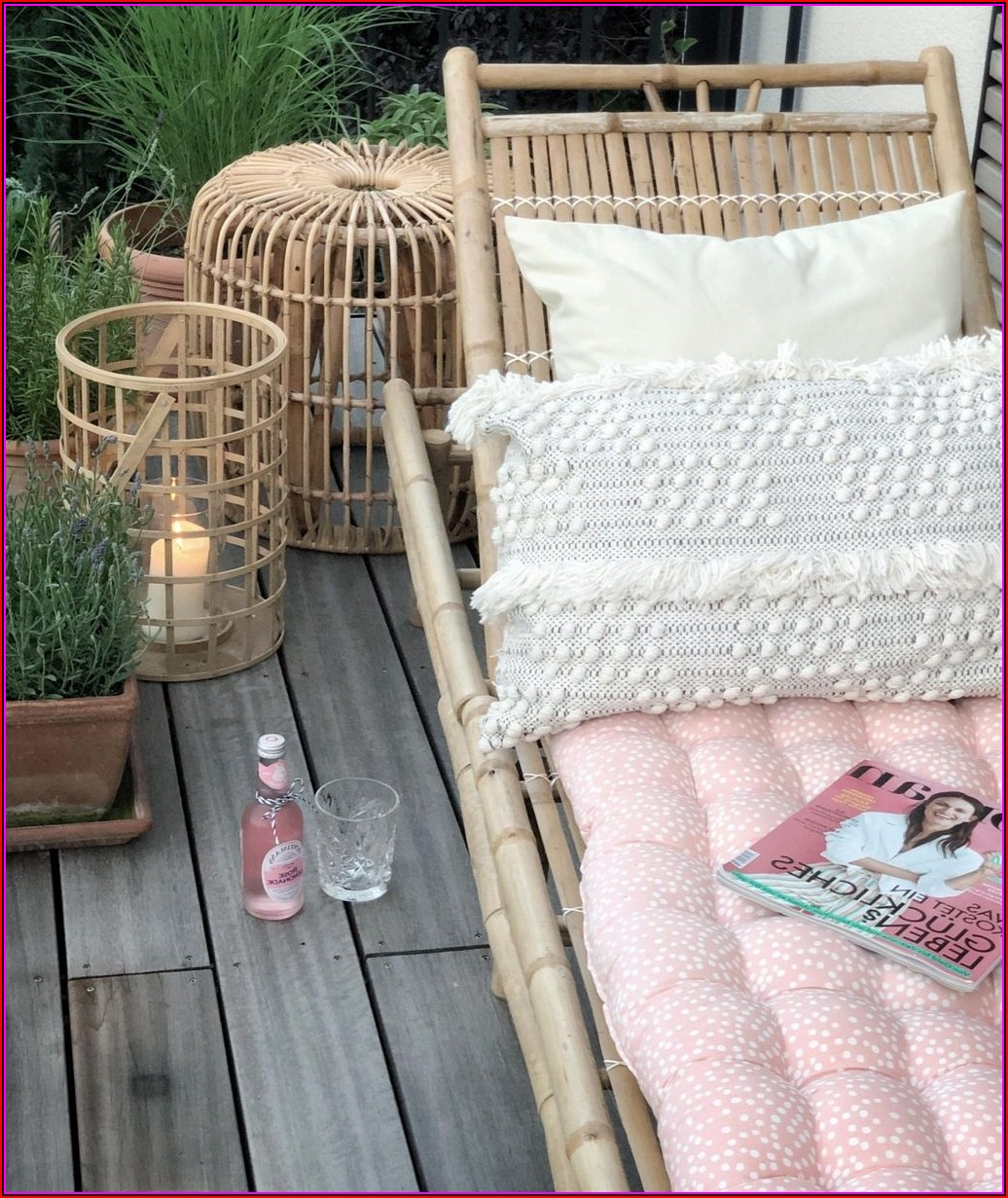 Sommer Dekoration Terrasse