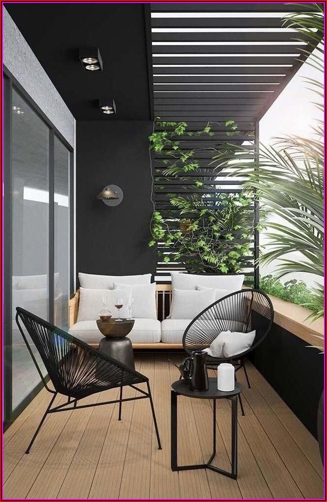 Terrasse Dekoration Modern