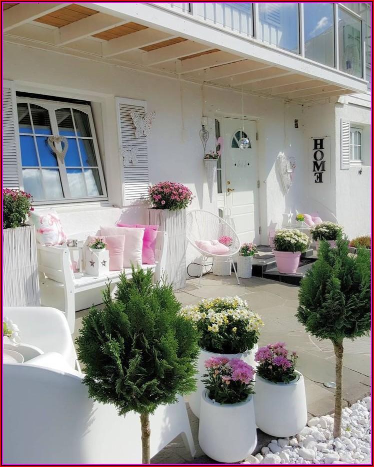 Terrasse Dekorieren Landhaus