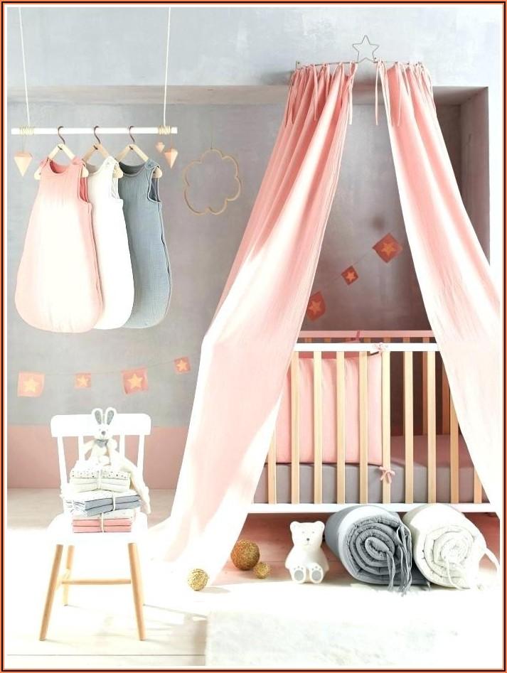 Vorhänge Kinderzimmer Grau Rosa