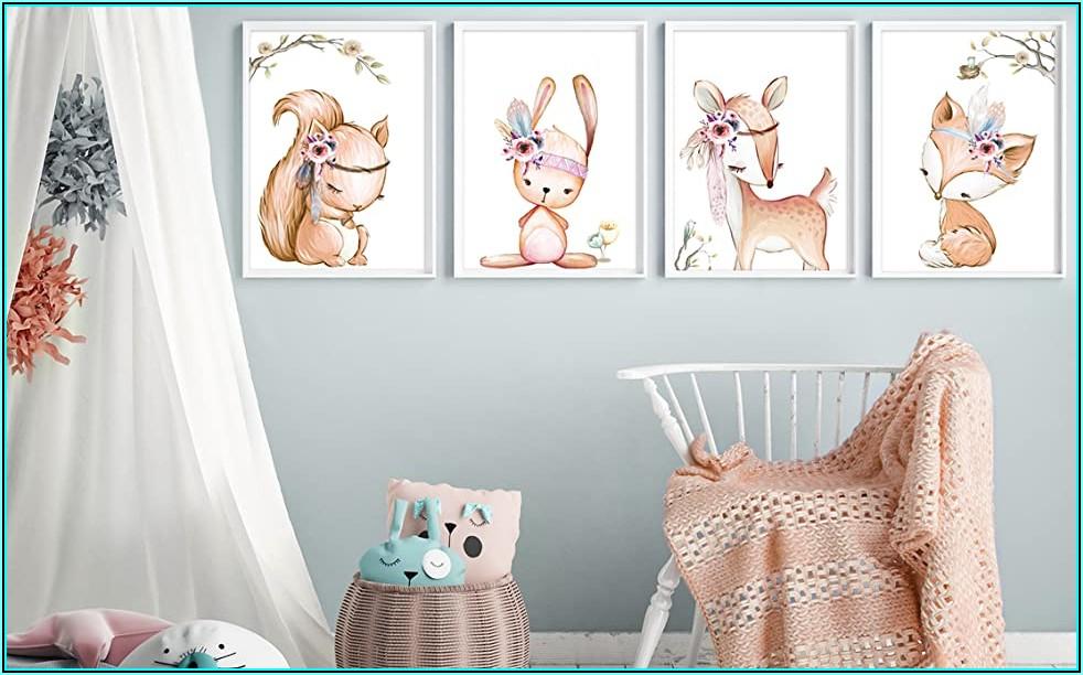 Wanddeko Babyzimmer Mädchen