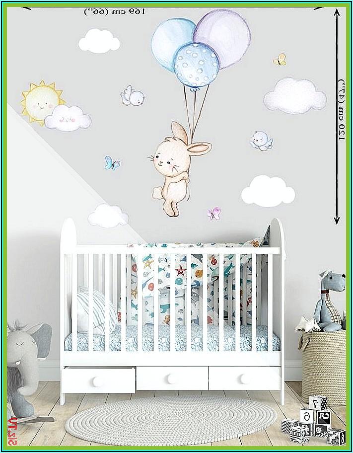Wanddeko Babyzimmer