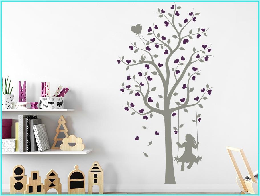 Wandsticker Babyzimmer Mädchen