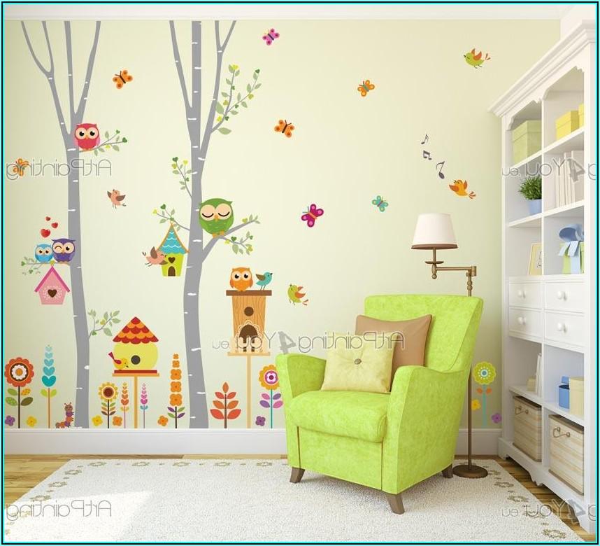 Wandsticker Kinderzimmer Baum