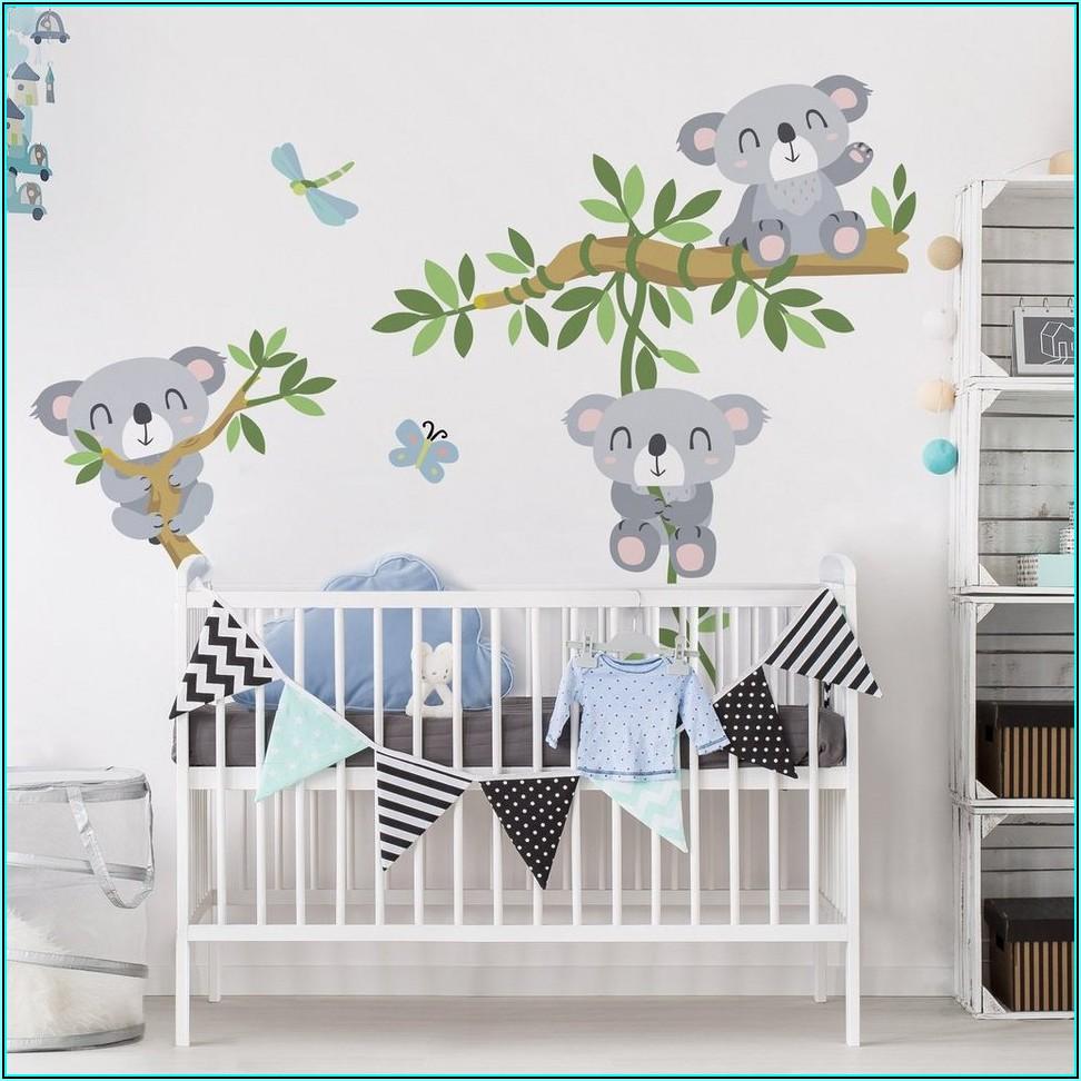 Wandtattoo Babyzimmer Raufaser
