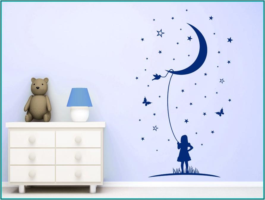 Wandtattoo Babyzimmer Sterne
