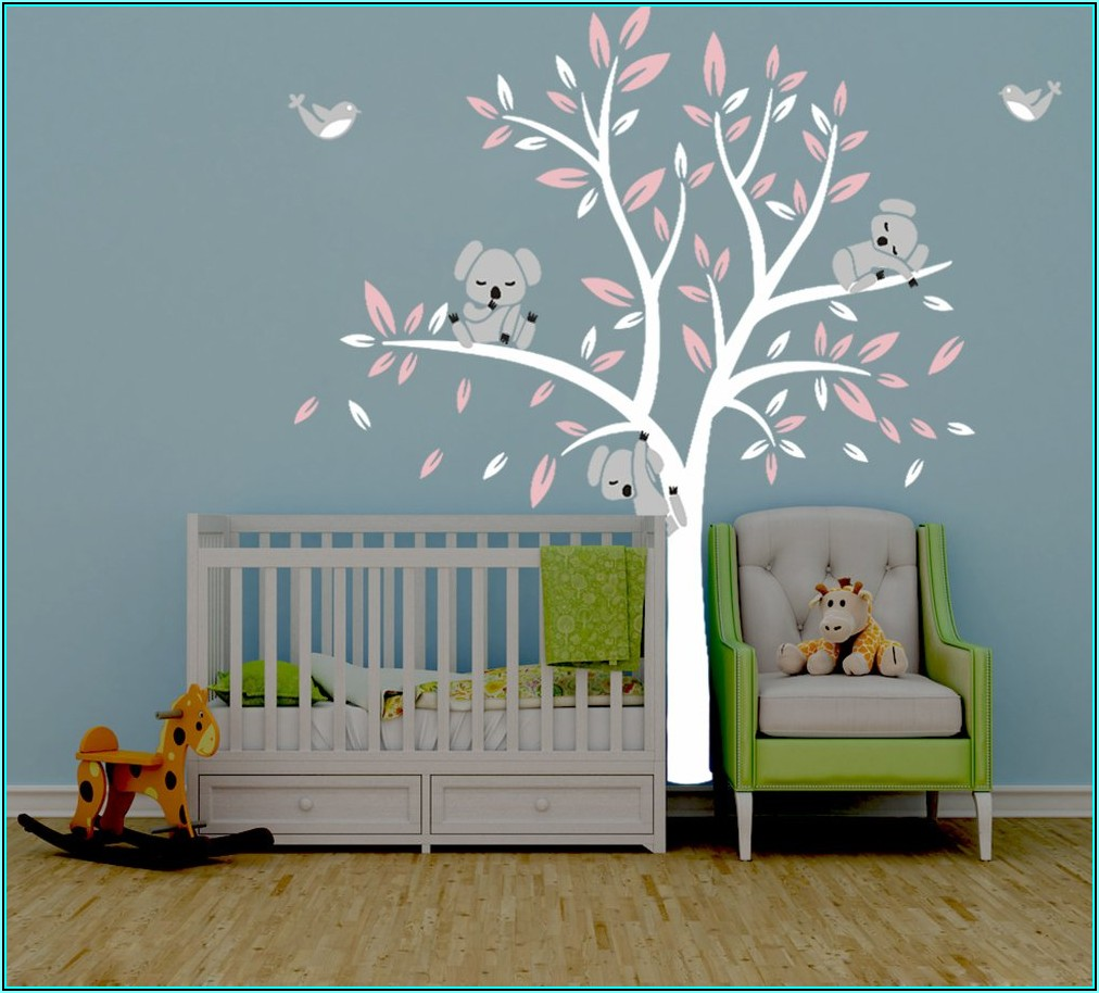 Wandtattoo Koala Babyzimmer