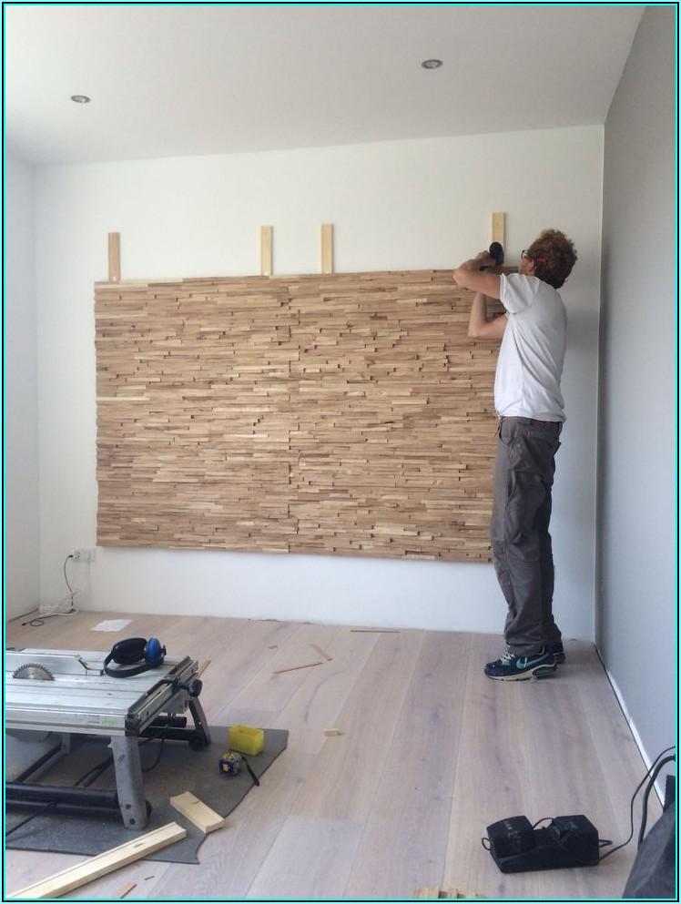 Wohnzimmer Wand Idee