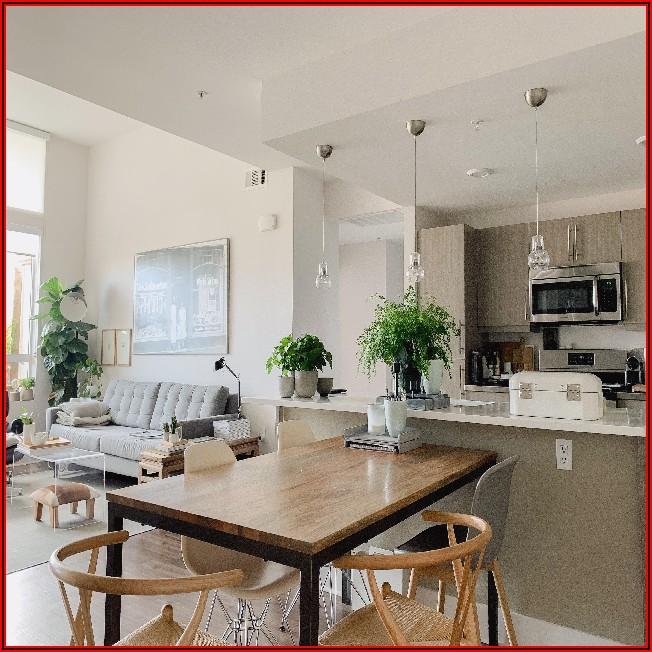 Offene Küche Mit Wohn Und Esszimmer