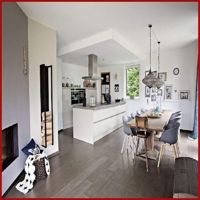Wohn Esszimmer Küche Größe