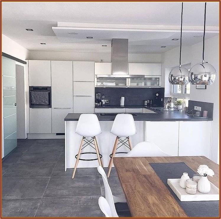 Aufteilung Küche Esszimmer Wohnzimmer