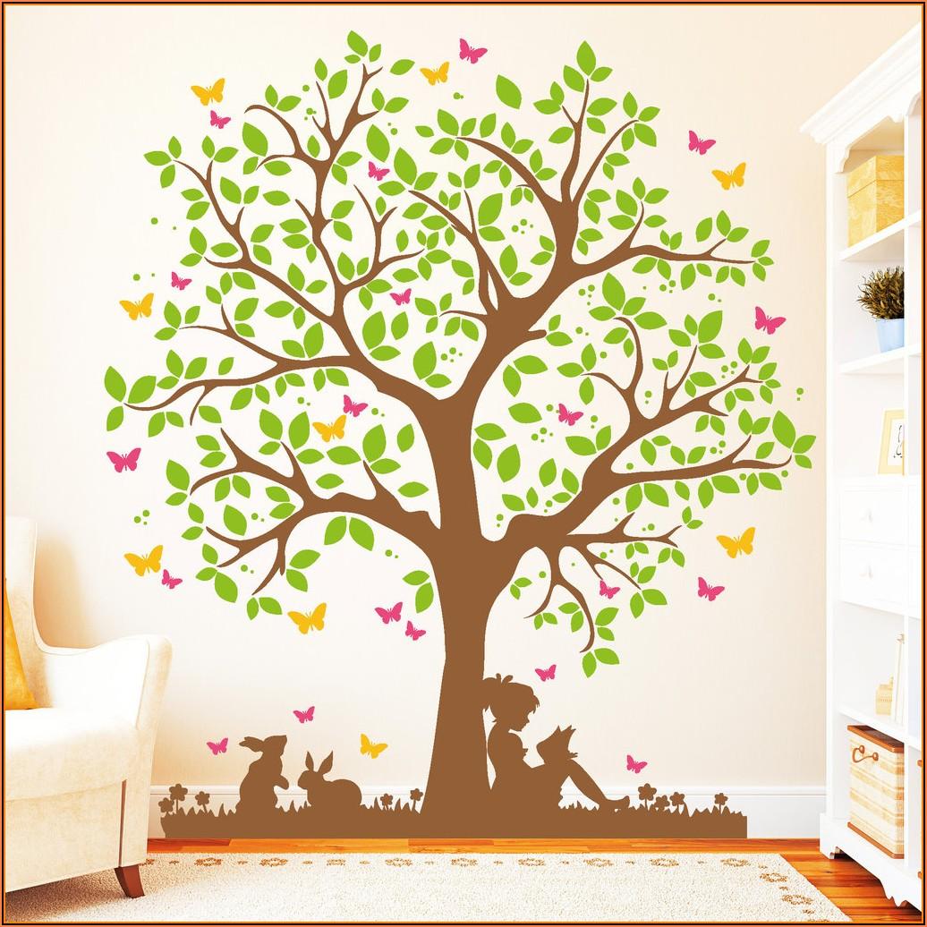 Baum Für Kinderzimmer Malen