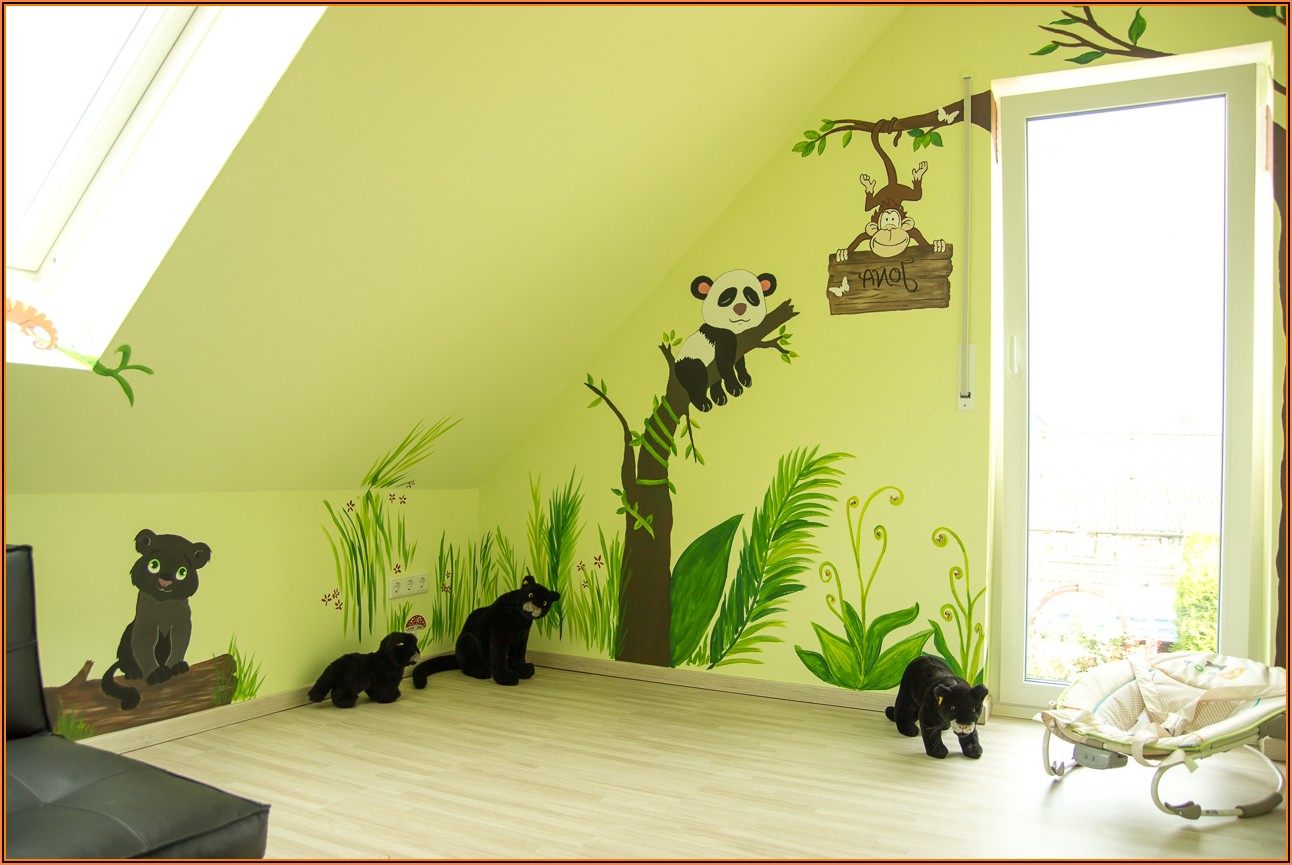 Bilder An Die Wand Malen Kinderzimmer