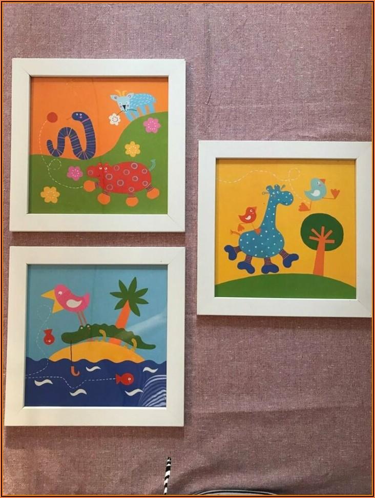 Bilder Mit Rahmen Kinderzimmer