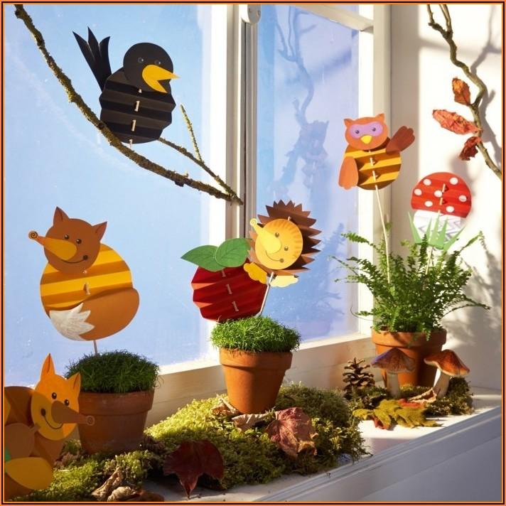 Fensterbilder Für Kinder Basteln