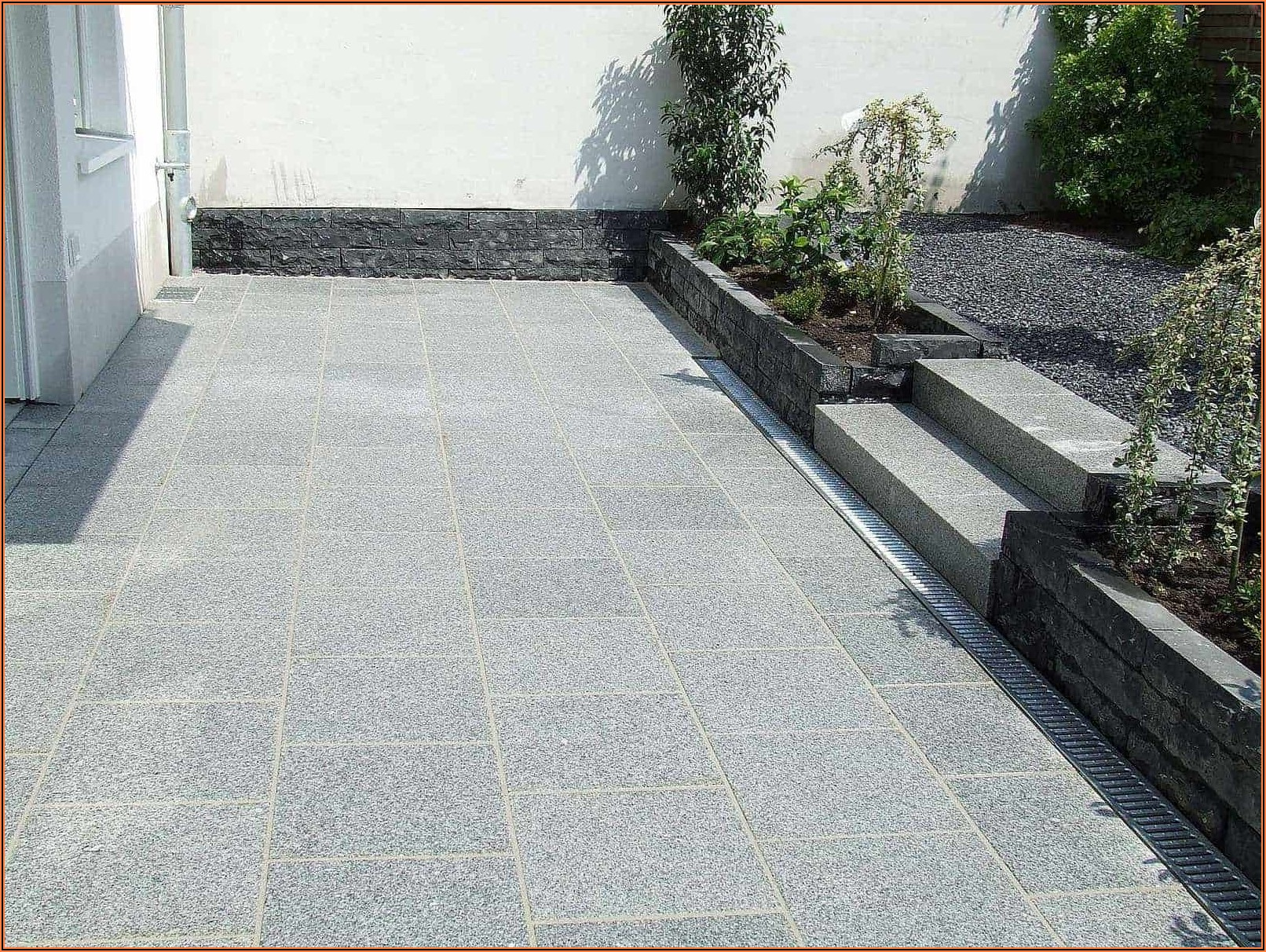 Granit Terrassen Bilder