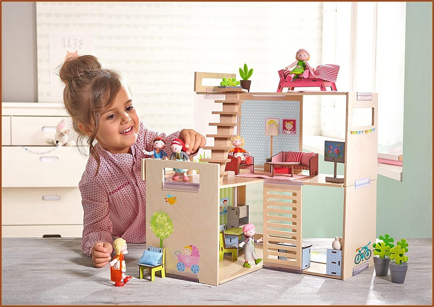 Haba Little Friends Puppenhaus Möbel Kinderzimmer