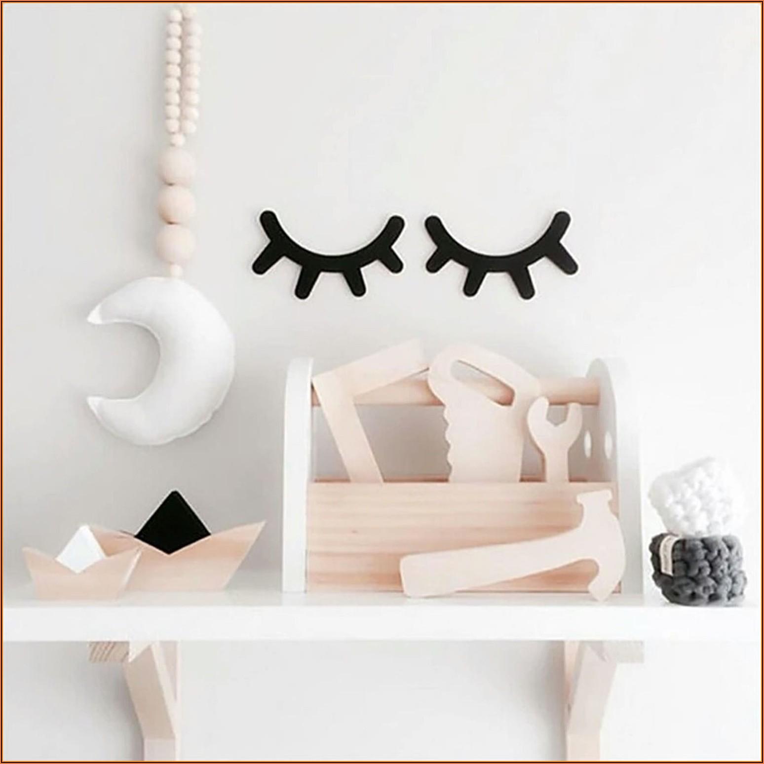 Holz Deko Wand Kinderzimmer