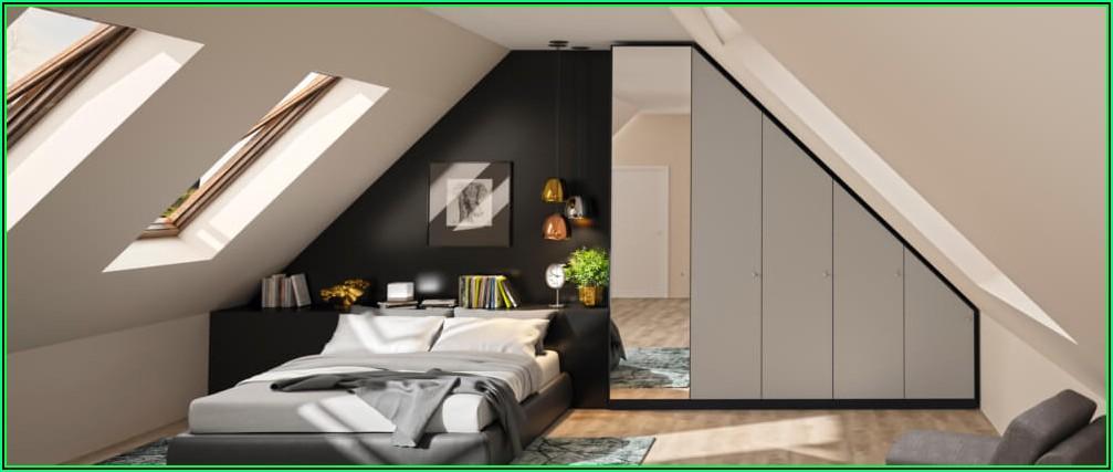 Ikea Schlafzimmer Mit Schräge