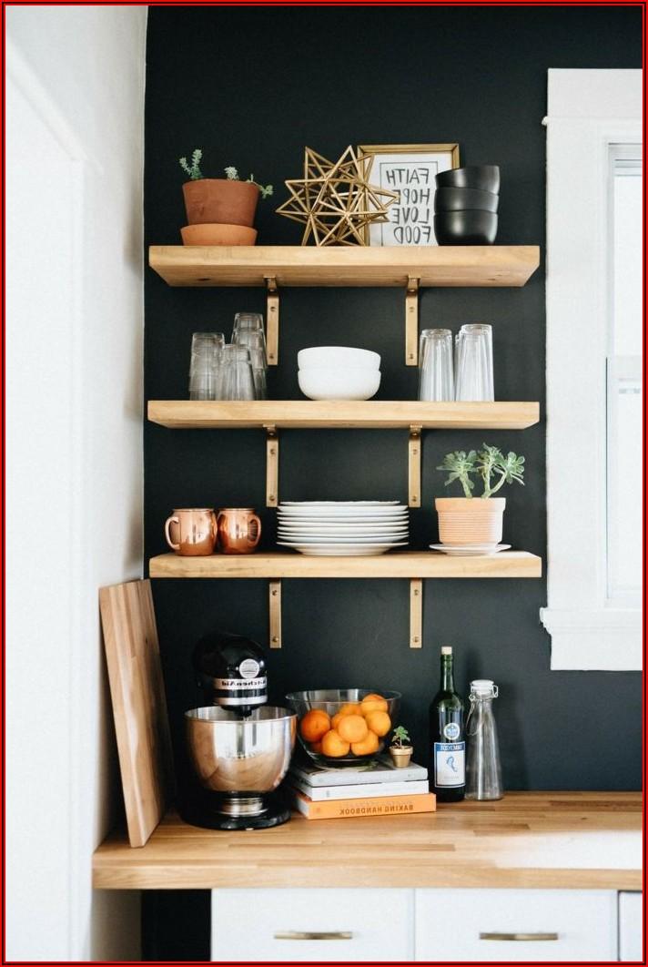 Küche Wandregal Ideen
