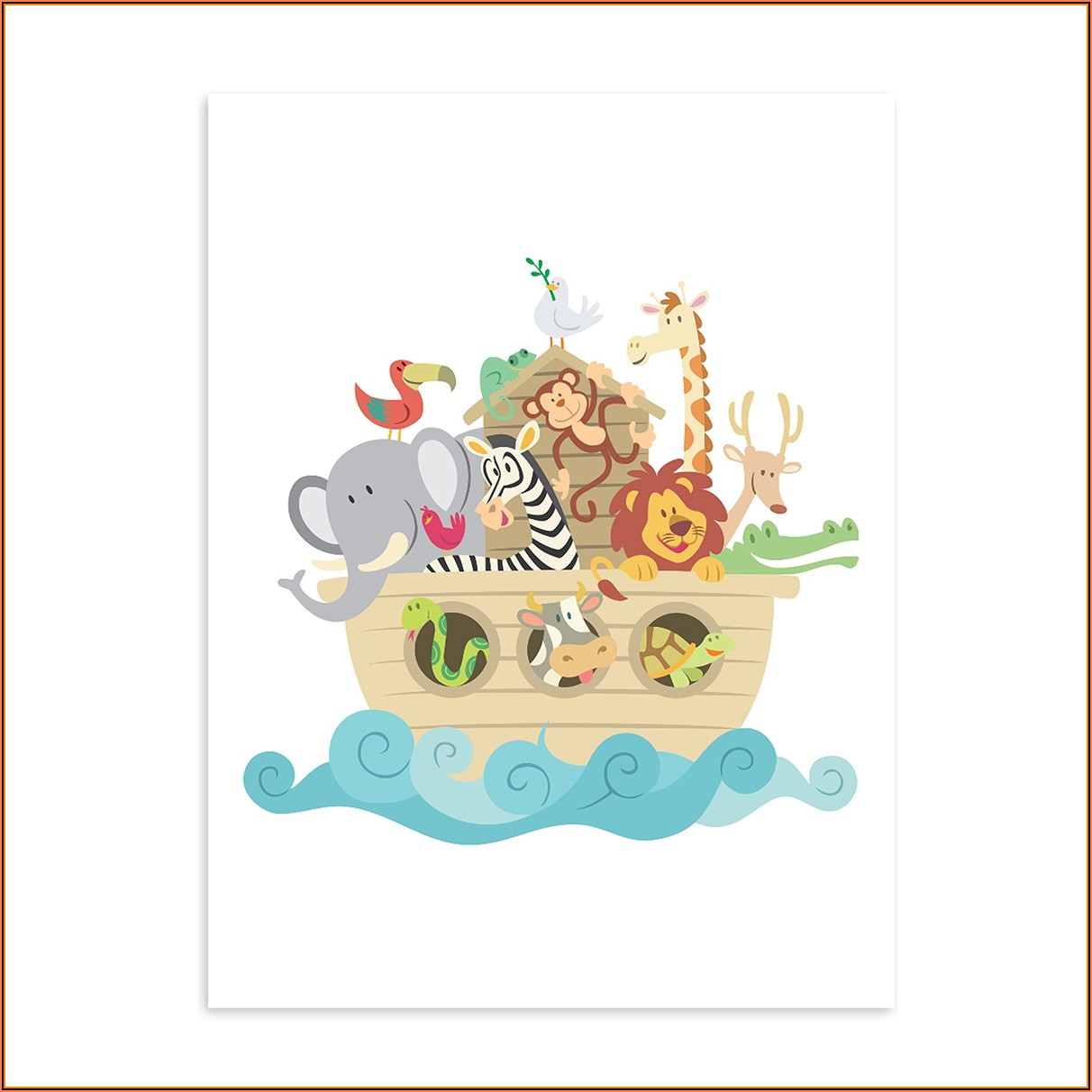 Kinderposter Tiere