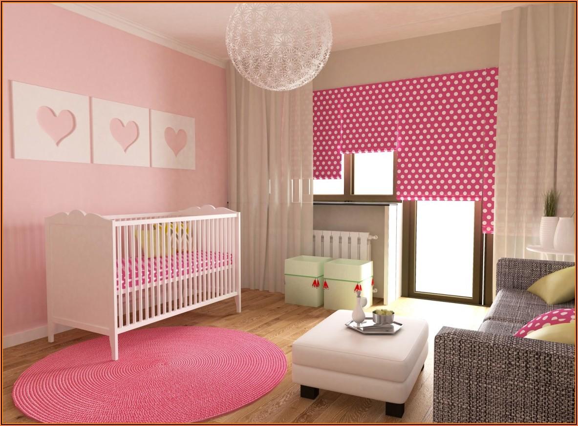 Kinderzimmer Gestalten Mädchen Baby