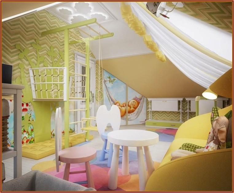 Kinderzimmer Gestalten Mit Schräge