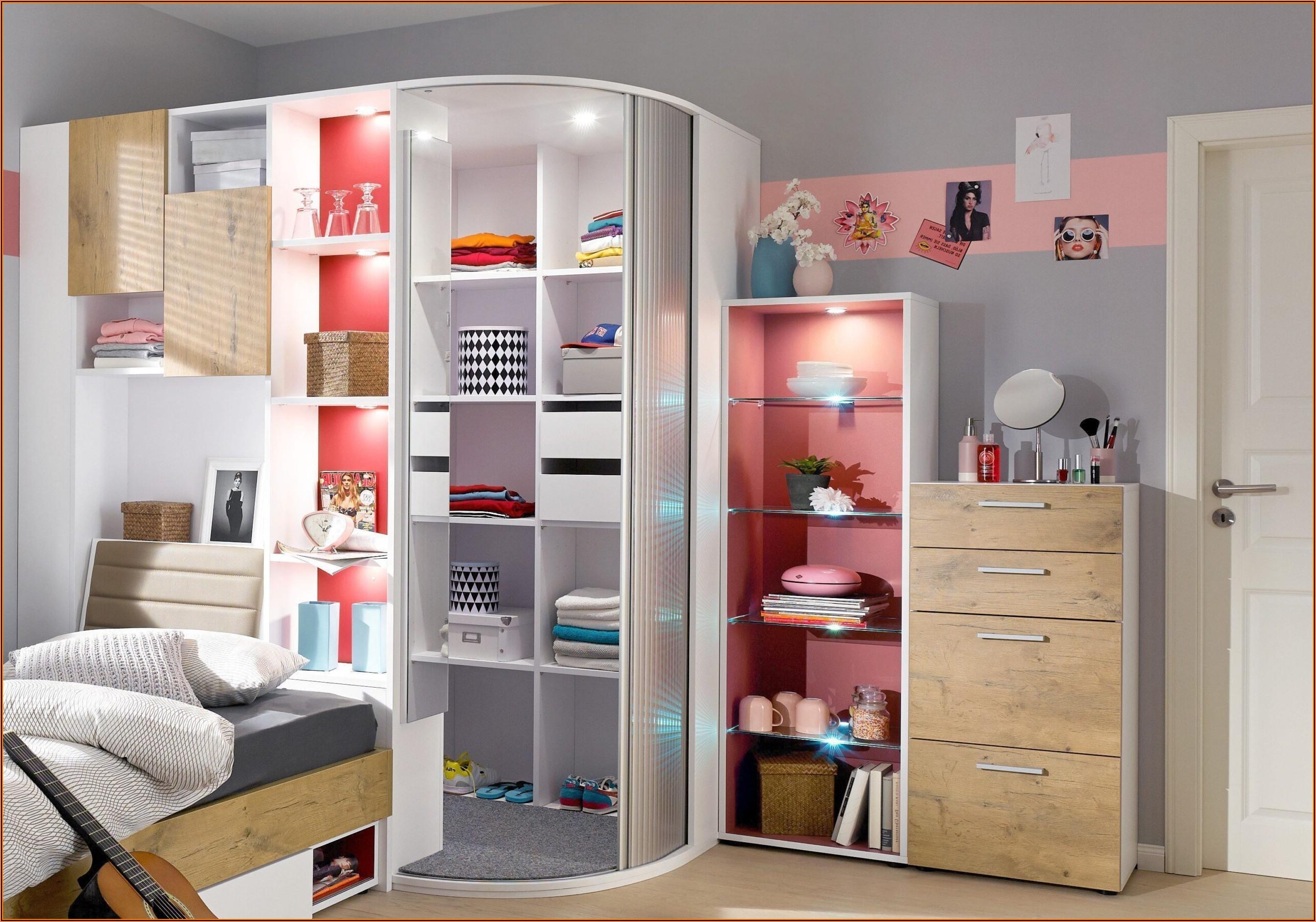 Kinderzimmer Komplett Mit Eckkleiderschrank