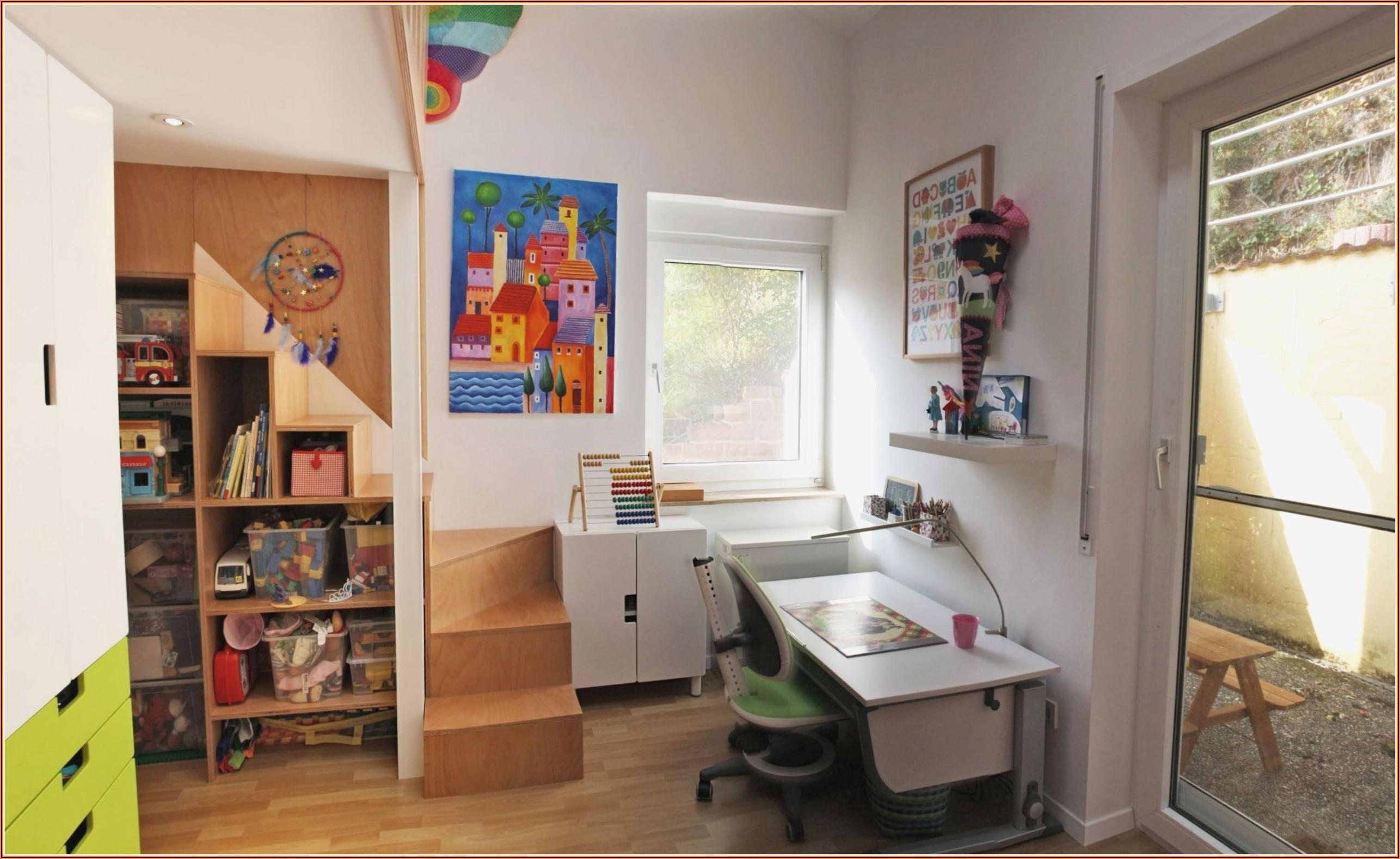 Kinderzimmer Mit Zweiter Ebene