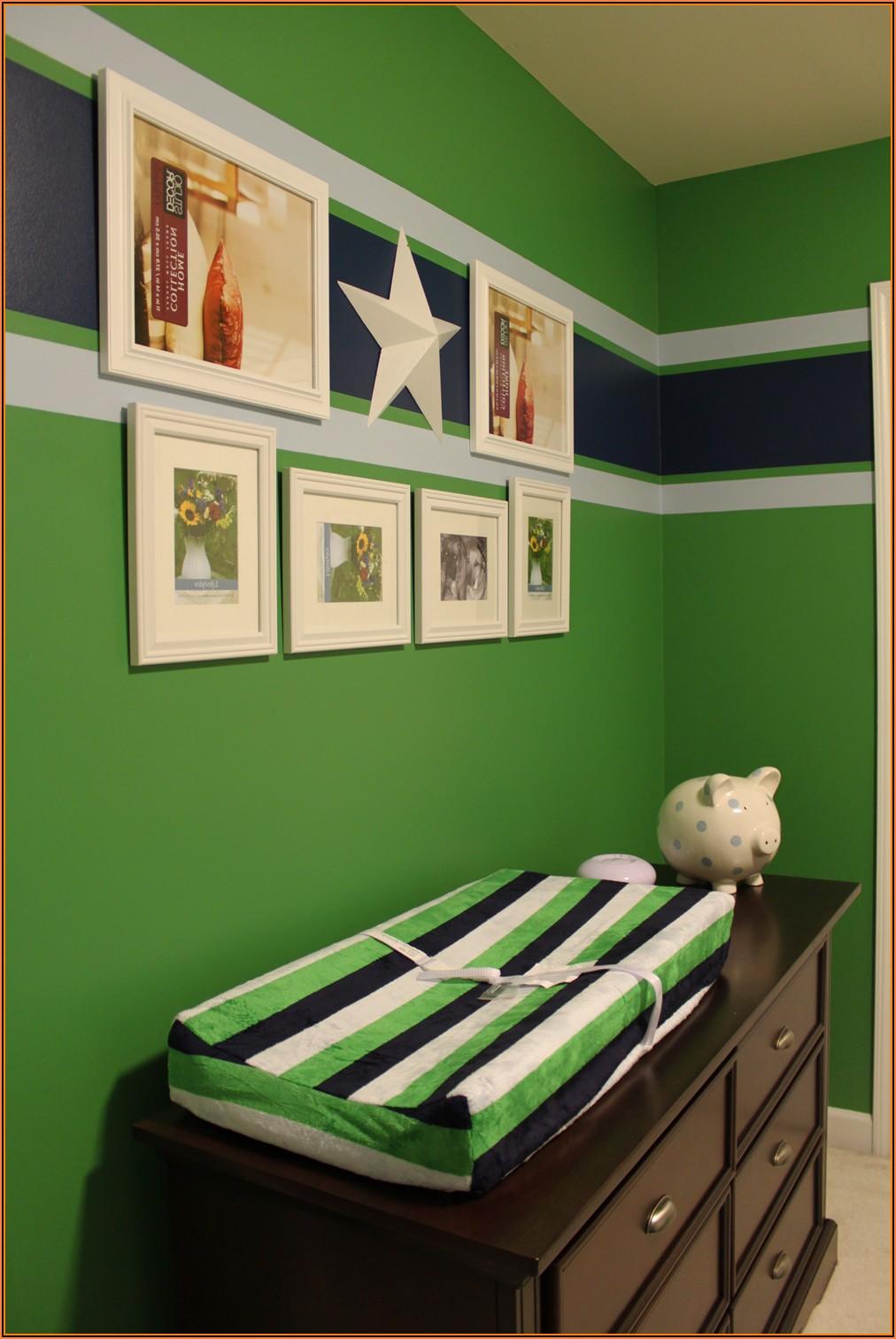 Kinderzimmer Streichen Blau Grün